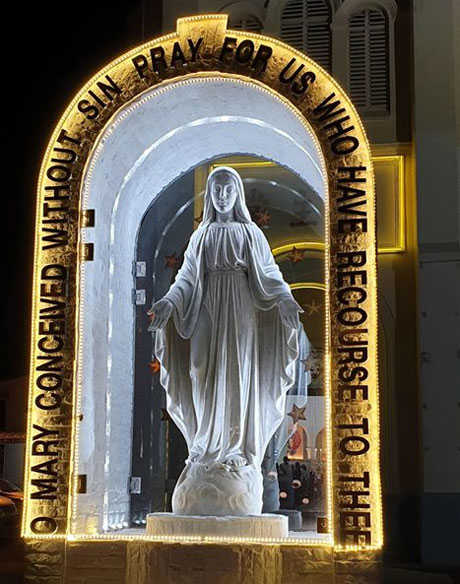 Statue of Our Lady of Immacaulate Conception